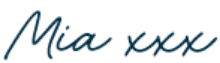 Mia XXX signature
