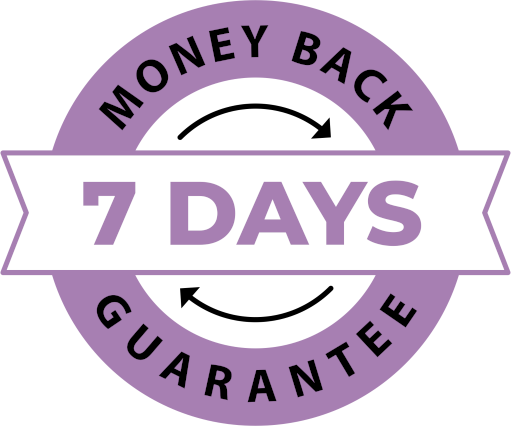 100% Money back guarantee*